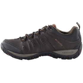 Columbia Peakfreak Woodburn II Shoes Men Waterproof cordovan / cinnamon